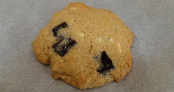 Cookies med lakrids og hvid chokolade 12