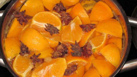 Hvad man kan få ud af en kasse Appelsiner!