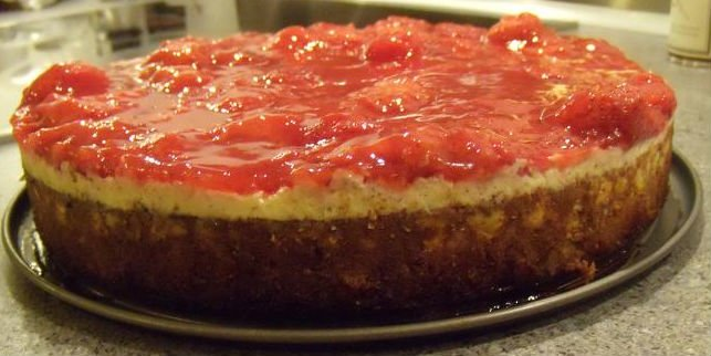 Manhattan-style cheesecake 16