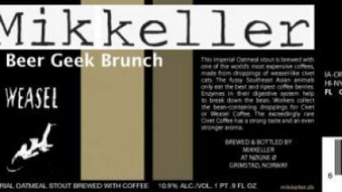 Beer Geek Brunch Islay Edition – en luksus imperial oatmeal stout fra Mikkeller