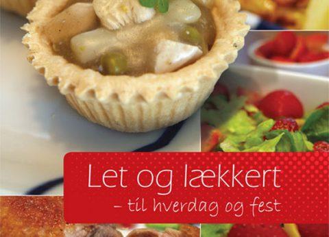 Ny kogebog – Let og lækkert – til hverdag og fest