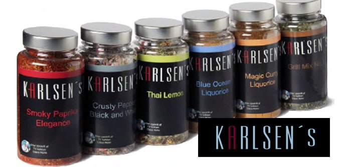 Karlsen´s krydderier præsenterer en ny krydderi serie 8
