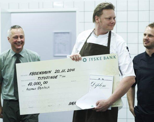 Rasmus Grønbech vinder kokkekonkurrencen Årets Vildtret 2011 11