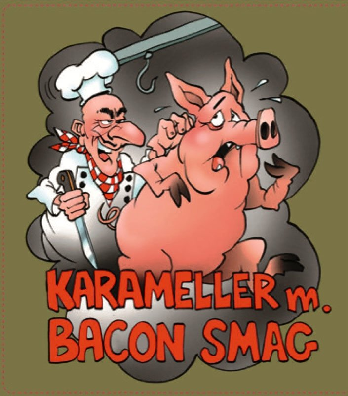 Karameller med bacon-smag introduceres i Danmark 10