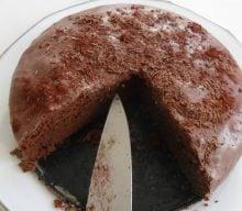Nytårsmenu Fransk chokoladekage