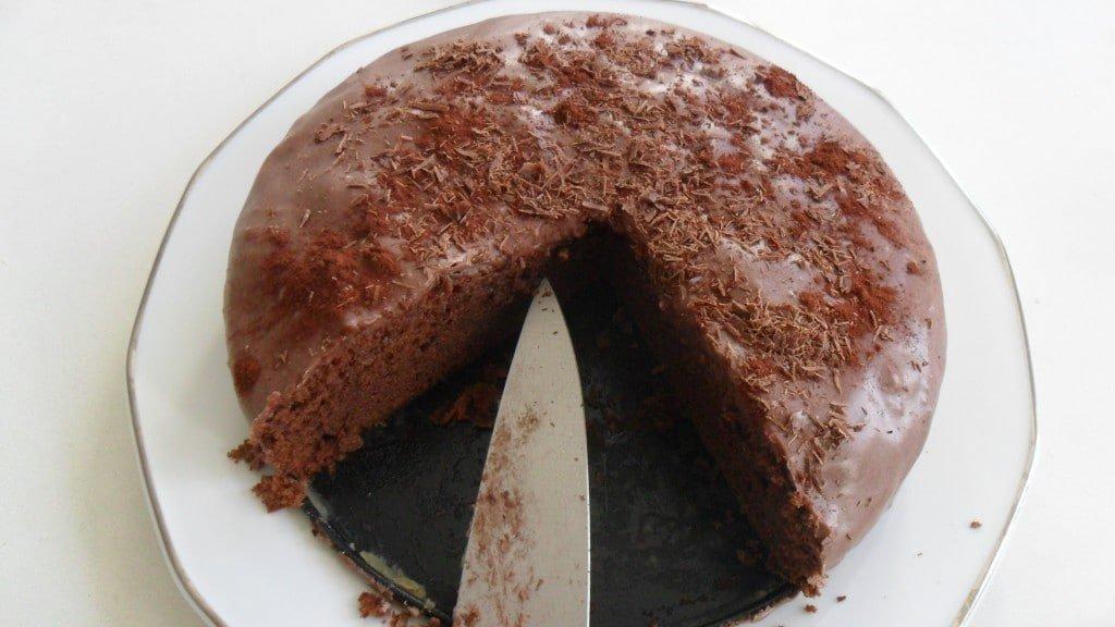 Nytårsmenu Fransk chokoladekage 8