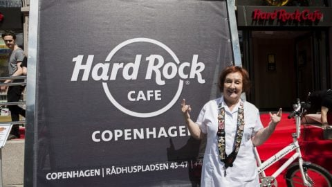 Hard Rock Cafe Copenhagen Grand Opening