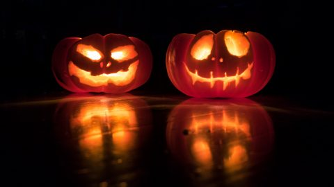 Uhyggelig Halloween mad!