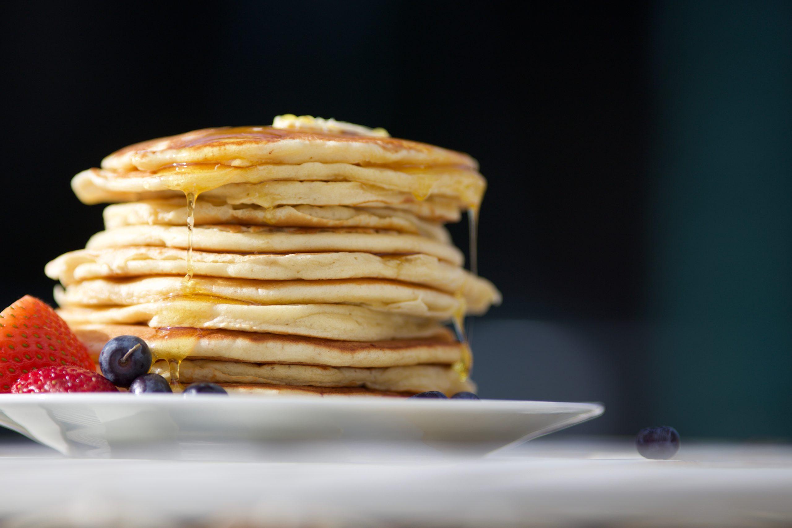 Find Danmarks mest luftige Amerikanske pandekager på HurtigMums.dk 1